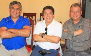 Ernesto Urista, Gonzalo Guevara and Efren Cazares