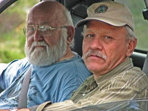 Jim Trappe and Jesus Garcia