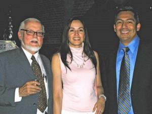Gaston Guzman, Laura Guzman and Efren Cazares