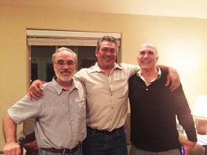 Randy Molina, Efren Cazares and Dan Durall