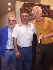 Randy Molina, Efren Cazares and Anders Dahlberg